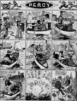 19111008 [Washington, DC] Evening Star, October 8, 1911 Percy mechanical man