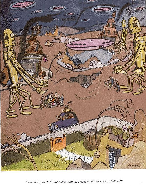 Punch cartoon (undated) by Michael ffolkes
