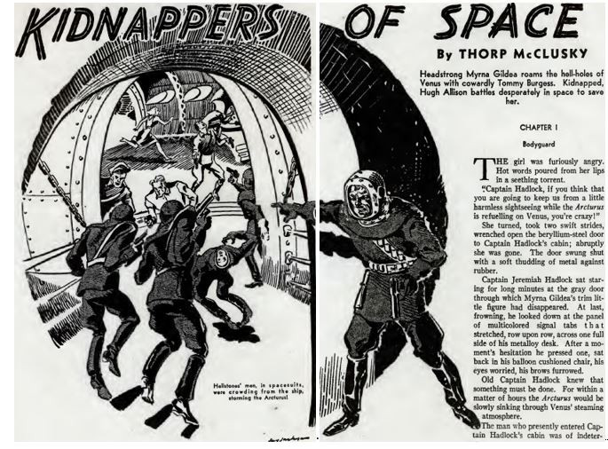 Amazing Stories, August 1938