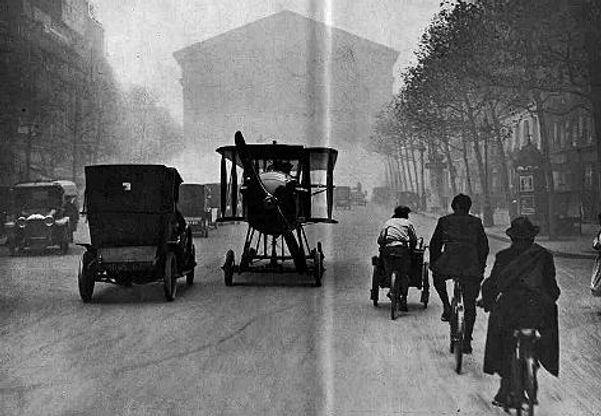 René Tampier Avion-automobile driving, 1917
