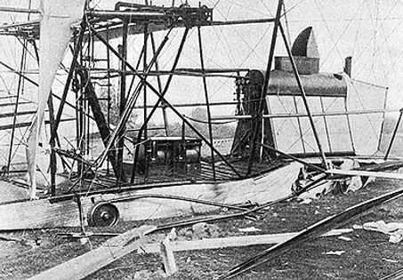 Maxim Flying Machine - After