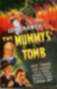 The Mummy's Tomb, poster, 1942