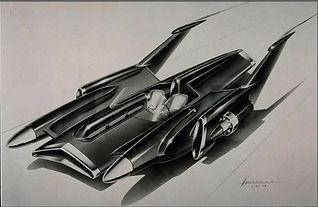 1954 concept sketch for FX-Atmos