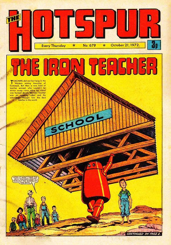 The Hotspur #679, Oct. 21, 1972