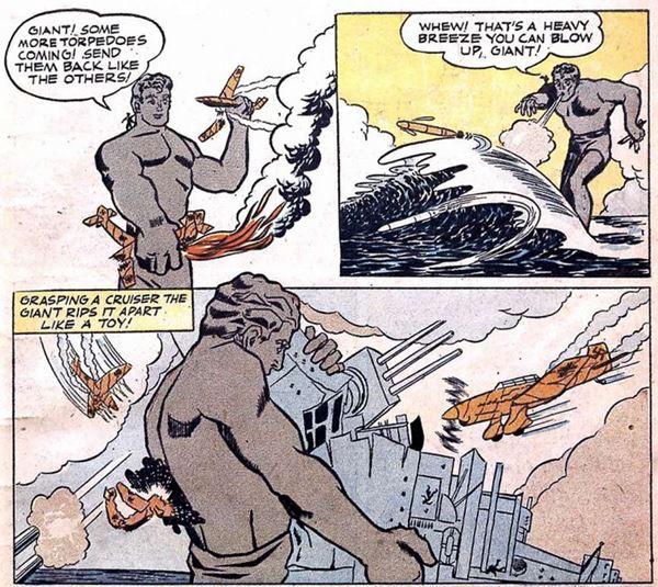 Clue Comics #2, February 1943