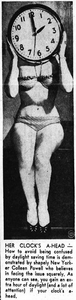 1952 Daylight Savings Time girl, Colleen Powell.JPG