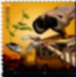 USA 44 cent forever stamp, WALL·E 2010