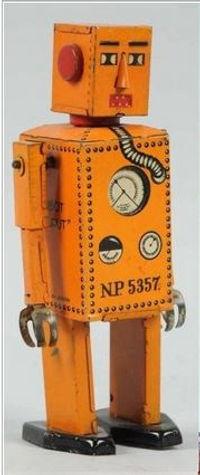 Robot Lilliput, orange variant