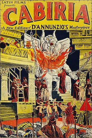 Cabiria (1914) poster