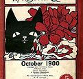 The Black Cat magazine October 1900 cove