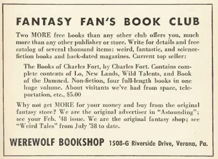 1950-02 Astounding, Fantasy Fan's Book Club ad