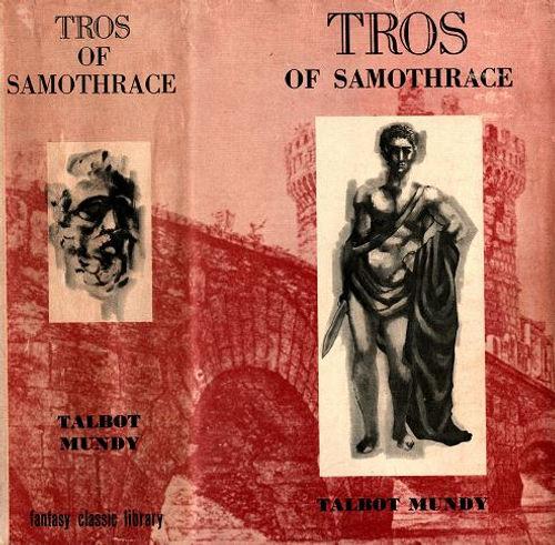 Lionel Dillon cover art for Tros of Samo