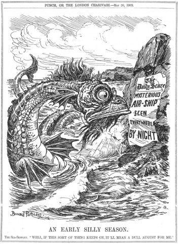 May 26, 1909 Punch cartoon by Bernard Partridge