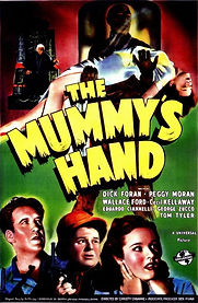 The Mummy's Hand, psoter, 1940