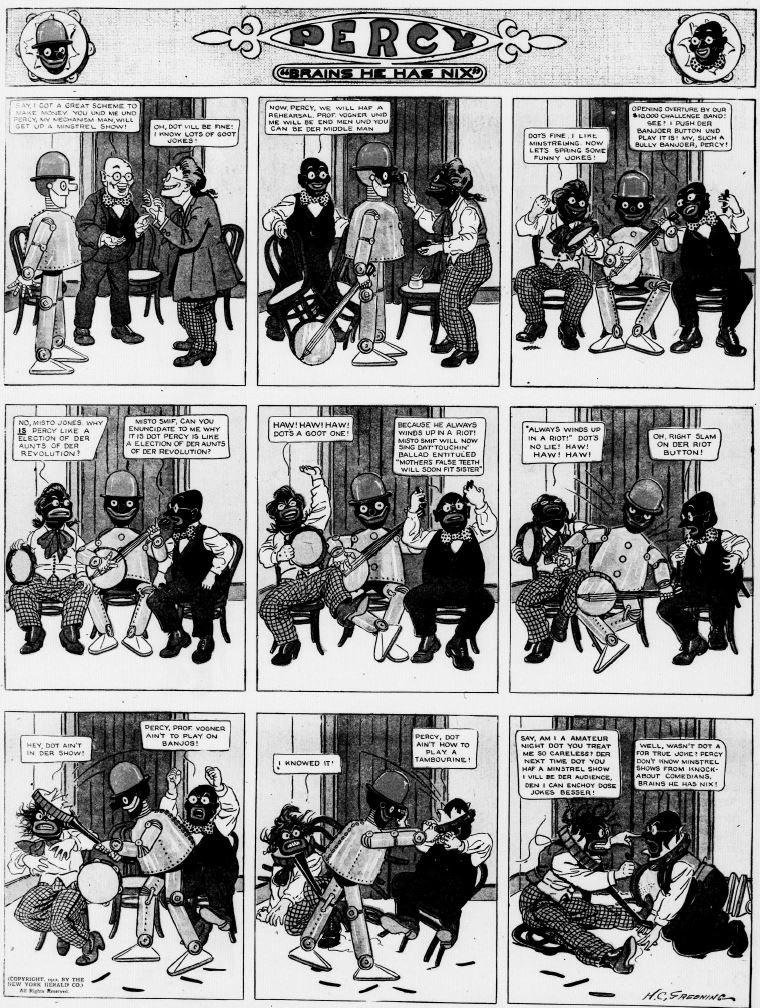 Percy, by H. C. Greening, Washington Evening Star, November 10, 1912