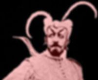 George Melies as Satan in The Merry Frolics of Satan, 1906