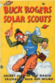 1936 Buck Rogers Solar Scouts Manual