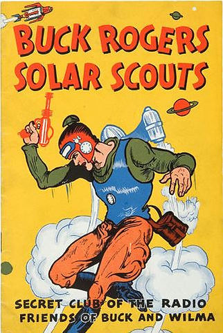 1936 Buck Rogers Solar Scouts Manual