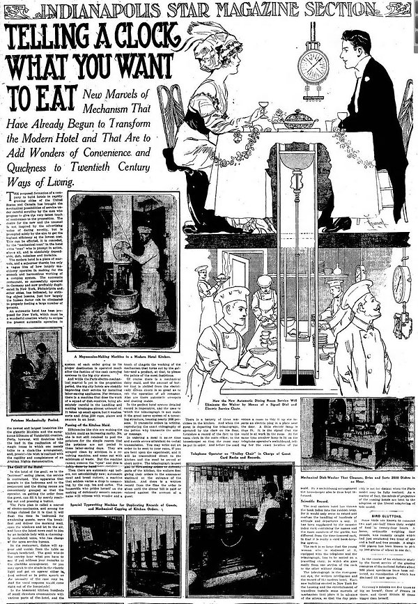 1914-02-08 Indianapolis Star 53 Telling A Clock