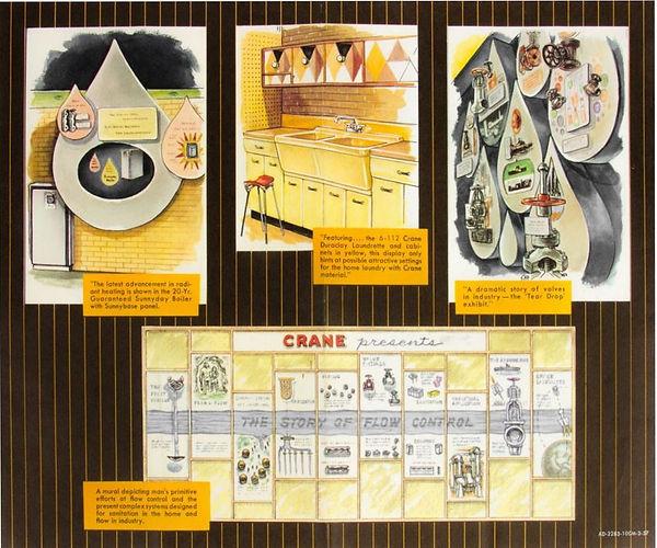 Crane Bathroom of Tomorrow Brochure flip side