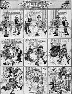 19111001 [Washington, DC] Evening Star, October 1, 1911 Percy mechanical man