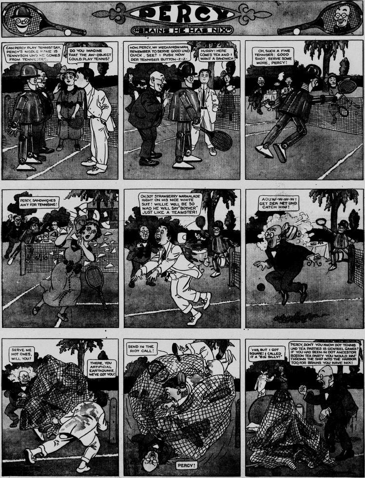 19120804 [Washington, DC] Evening Star, August 4, 1912 Percy mechanical man