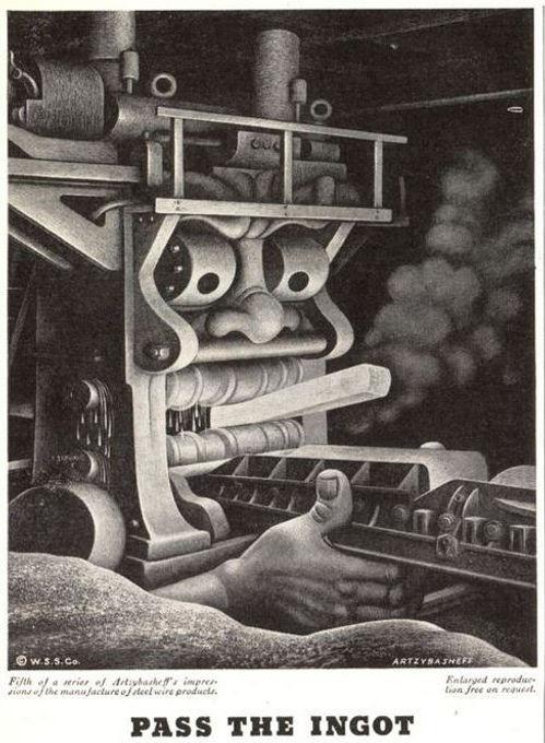 Wickwire Spencer Steel #5, Artzybasheff,