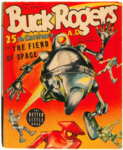 Buck Rogers v the Fiend From Space Better Little Book