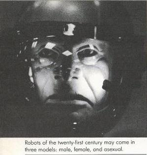 Arthur C. Clarke, July 20, 2019 robot face