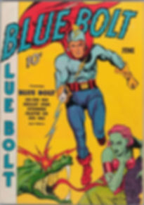 Blue Bolt comic #1, June 1940