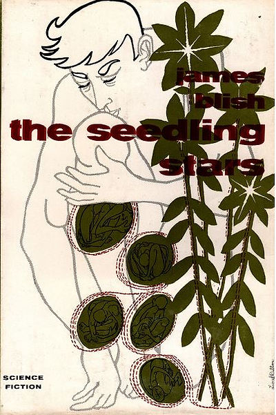 Lionel Dillon cover art for The Seedling