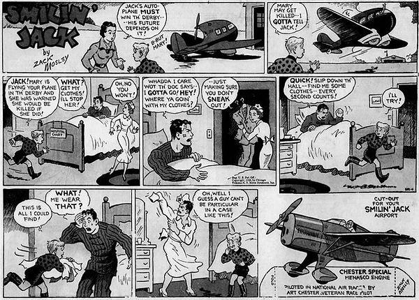 Smilin' Jack, December 1, 1935