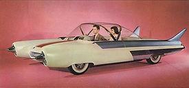 Chicago Auto Show, 1954, Ford FX-Atmos concept car