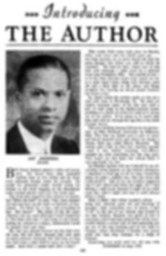 Fantastic Adventures, Oct. 1941, Jay Jackson bio p. 139