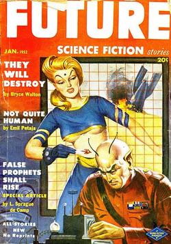 January 1952 - Milton Luros art