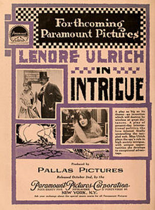 The Intrigue, 1916, poster