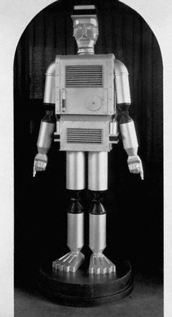 The Mechanical Man by the Dept. of Labor, Texas Centennial, 1936