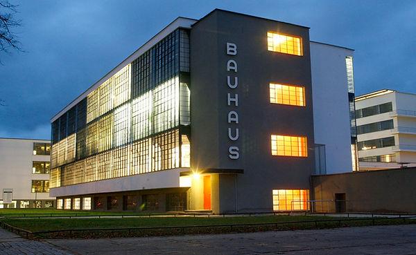 Bauhaus building Dressar 1926, designed by Walter Gropius