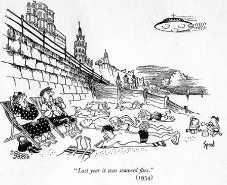 1954 Punch cartoon by George Sprod