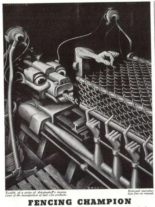 Wickwire Spencer Steel #12, Artzybasheff