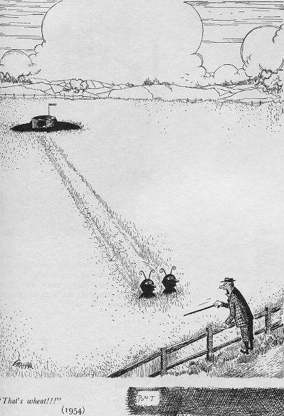 1954 Punch cartoon by Alex Graham