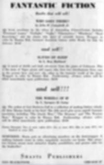 Antiquarian Bookman, June 26, 1948, p. 1112 Shasta ad