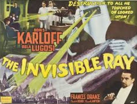 The Invisible Ray, 1920, poster