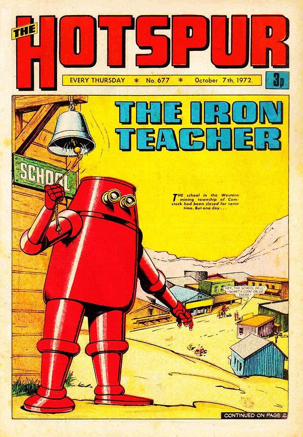 The Hotspur #677, Oct. 7, 1972