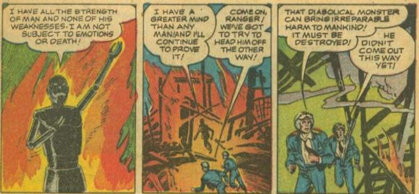 Captain Video #3 June 1951 The Indestructible Antagonist p. 7, panel