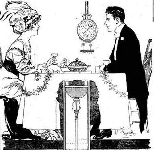 Telling a Clock illustration