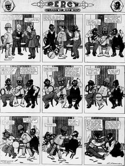 19121110 [Washington, DC] Evening Star, November 10, 1912 Percy mechanical man