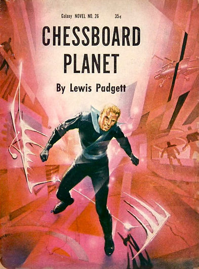 Lewis Padgett, Chessboard Planet, Galaxy Novel #26
