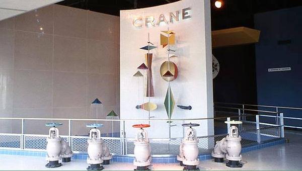 Crane Bathroom of Tomorrow entrance