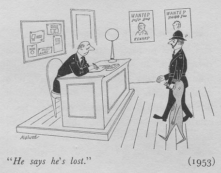 1953 Punch cartoon by Kenneth Mahood